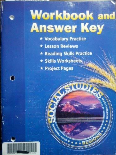 Workbook And Answer Key Social Studies Regions Pearson