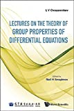 img - for Lectures on the Theory of Group Properties of Differential Equations book / textbook / text book