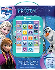 Disney Frozen Elsa, Anna, Olaf, and More! - Me Reader Electronic Reader and 8-Sound Book Library – PI Kids.
