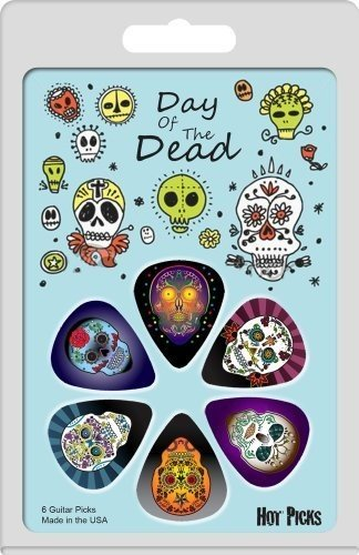 Hotpicksusa Hot Picks Day Of The Dead (Skull Instrument Cable)