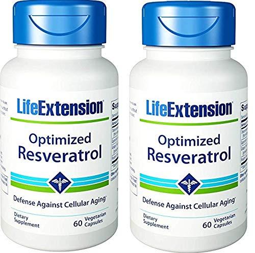 ized Resveratrol 60 vegetarian capsules (Pack of 2) ()