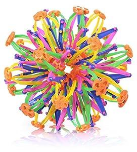 Multi Farben Plastic erweitern Magic Ball Größere Kugel Kinder Spielzeug