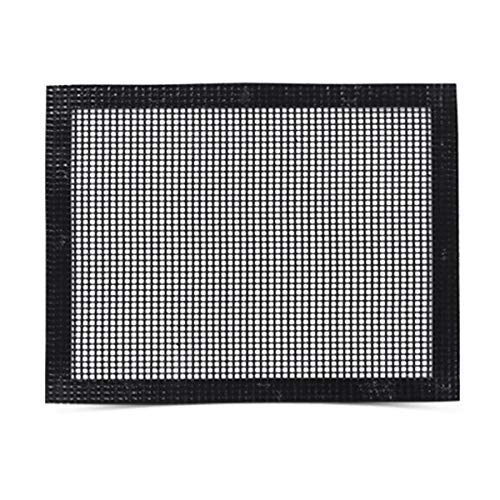 (Grill Mat BBQ Tool - Mesh Grill Mat That Allows Smoke to Pass Through - Non-Stick - Perfect For Grills, Smokers and Ovens)