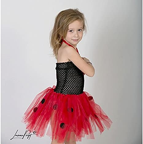 Vestido Tutu mariquita, disfraz niños de 0 a 5 años (a) 0/1 an, 2 ...