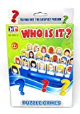 Who is it Board Game Guess Who? Classic Kid Puzzle Board Game with English Instruction 48 Face Photo Free!!! Triangle Twist Game
