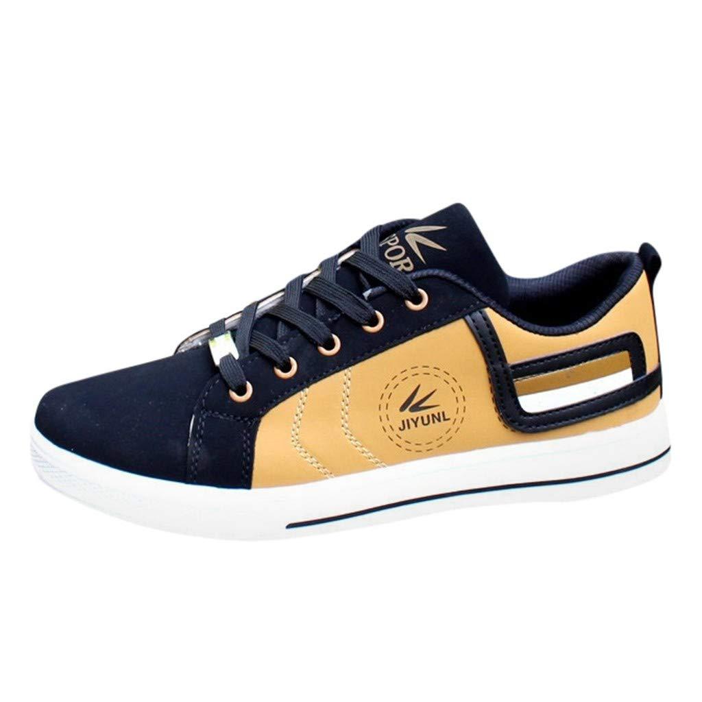 HuaMore Confortable et Respirant Mode extérieure Casual Men Chaussures de Sport Chil Sneakers Chaussures Solides
