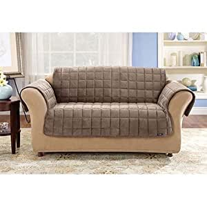 Amazon.com - Sure Fit Stretch Stripe 2-Piece T Chair ...  |Amazon Sure Fit Slipcovers