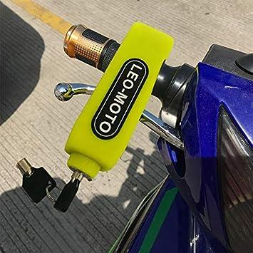 Levier de Frein Antivol S/écurit/é Serrure de Guidon Moto Noir FD-MOTO Verrouillage de S/écurit/é de Moto