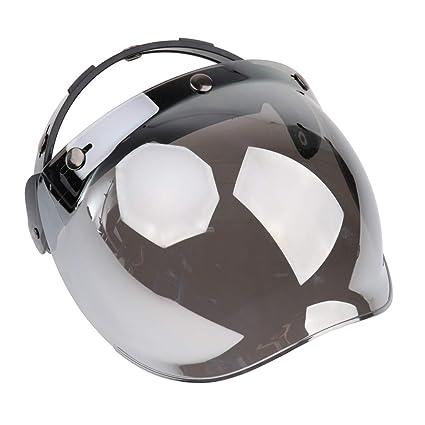 998104b59bc16 Homyl Escudo de Burbuja de 3 Botones para Cascos de Motoristas ...