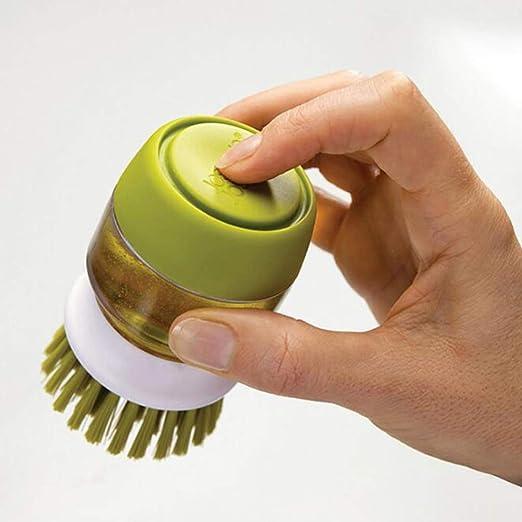 YZ-YUAN Mini Cepillo portátil para Lavavajillas de Mano, Tipo de ...