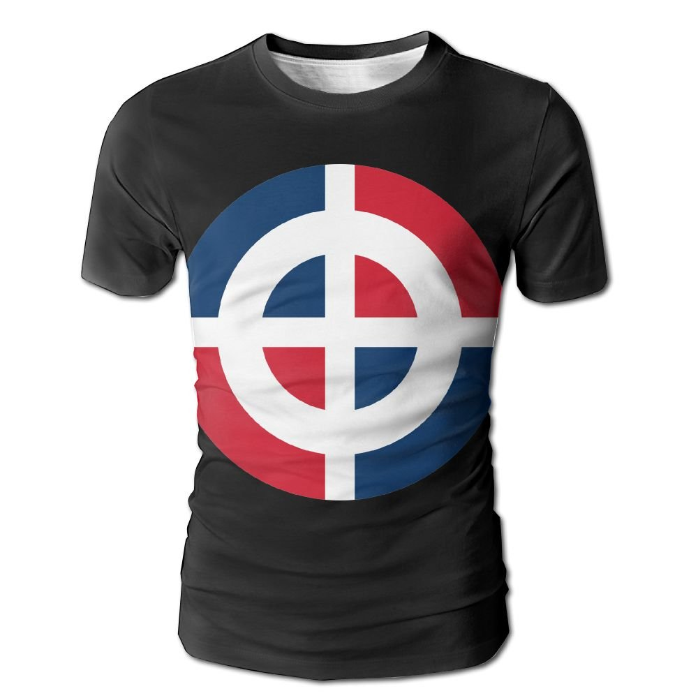 GDUTB17 Roundel Of The Dominican Short Sleeves T-Shirt For Men