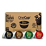 San Francisco Bay OneCup, Variety Pack, 120 Count- Single Serve Coffee, French Roast - Fog Chaser - Rainforest - Breakfast Blend, Compatible with Keurig K-cup Brewers