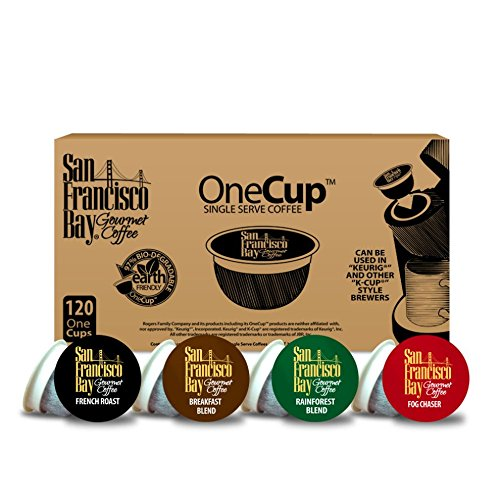 San Francisco Bay OneCup, Variety Pack, 120 Single Serve Coffees