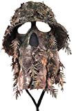 QuikCamo Realtree Xtra Camouflage 3D Leafy Bucket Hat Hunting Face Mask Combination (XL)