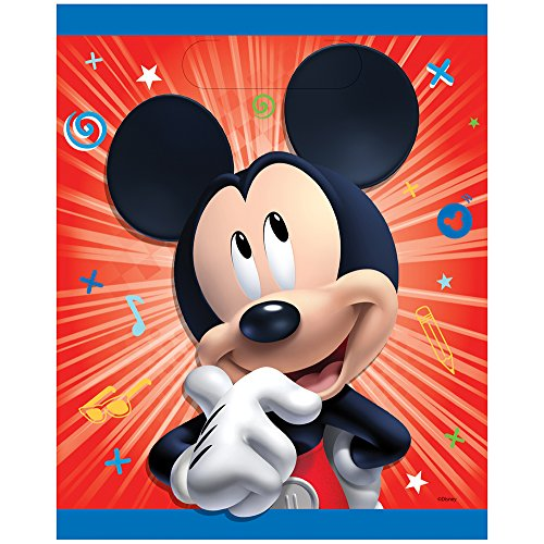Unique Disney Mickey Roadster Party Loot Bags, 8 Ct.]()