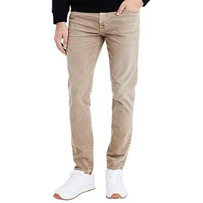 American Eagle Mens 4162204 Ne(x) t Level Skinny Jean, Dune Khaki at Men's Clothing store