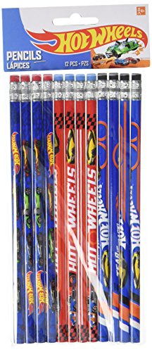 Hot Wheels Wild Racer Pencils, Party Favor -