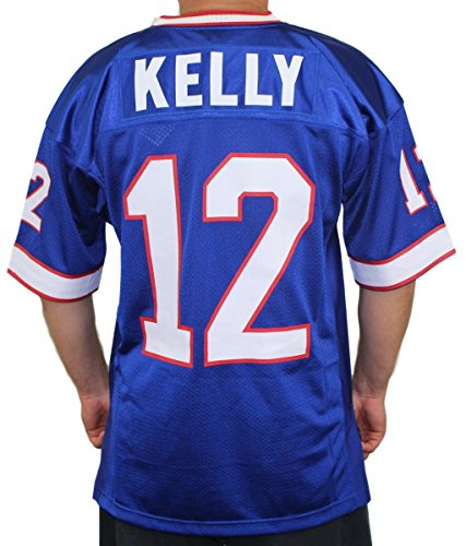 the latest 714cb 471b2 Mitchell & Ness Jim Kelly Buffalo Bills Authentic 1994 Blue NFL Jersey