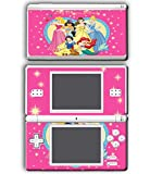 Princess Friends Pink Cinderella Snow White Ariel Jasmine Belle Video Game Vinyl Decal Skin Sticker Cover for Nintendo DS Lite System