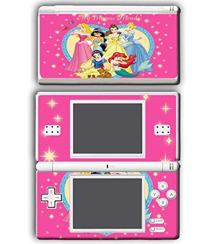 k Cinderella Snow White Ariel Jasmine Belle Video Game Vinyl Decal Skin Sticker Cover for Nintendo DS Lite System ()
