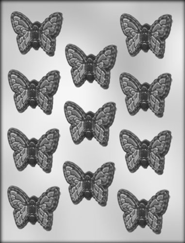 CK Products 2-Inch Butterfly Chocolate Mold (Chocolate Mold Butterfly)