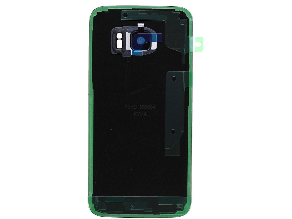 G930F con mungoo pantalla pa/ño de limpieza Tapa de bater/ía Negro para Original Samsung para Samsung Galaxy S7
