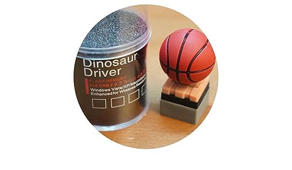 Memoria Usb 8 Gb Dinosaur Driver Balon Basket Expositor Pendrive ...