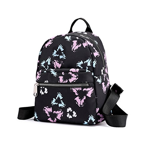 Slendima Women Leisure Floral Zipper Bag,Large Capacity Waterproof Travel Backpack, School Girls Bag - 8 Type by Slendima