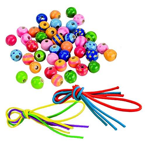 Goki 60945 - Perlen mit Bändern