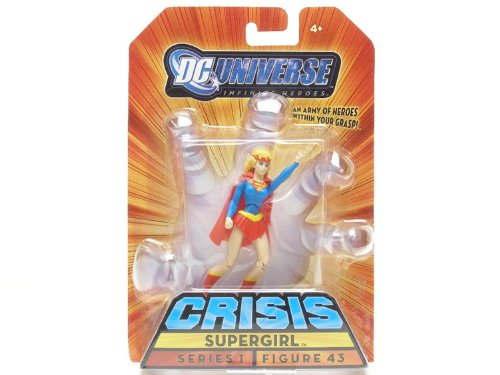 Mattel DC Universe Crisis Infinite Heroes Series 1 Supergirl Action Figure #43