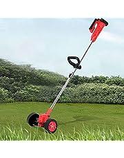 آلة حفر الحديقة المحمولة بدون أسلاك ، آلة قص العشب الكهربائية مع بطارية ليثيوم أيون ، شاحن ، شفرات تشذيب ، عجلات - 24 فولت