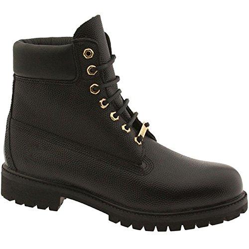Timberland Mens 6 Premium Monochrome Boot, TB0A176B-BLACK, 41 D(M) EU/7 D(M) UK