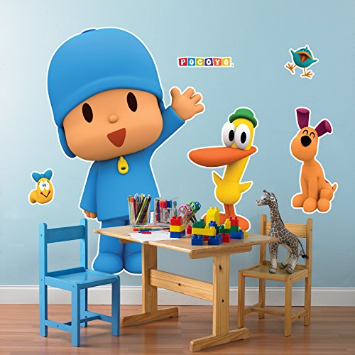 BirthdayExpress Pocoyo Party Supplies Room Decoration Giant Wall