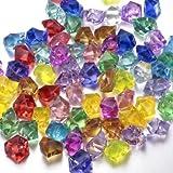 Gemmes Coulorées En Cristal Diamant Acrylique Trésor de Pirate Gemmes Remplissage du Vase Mariage Décoration de Table à Saupoudrer Cristaux/Diamants/Confettis - FUNLAVIE