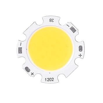 Othmro 1 Piece DC 36-40V 300mA 12W COB LED Strip COB Chip Led Lamp Light Warm White 3000K