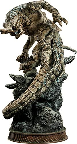 Amazon Com Sideshow Slattern Category 5 Kaiju Pacific Rim Statue Toys Games Constructore, căi ferate, biciclete, mașini, jocuri active și multe altele! sideshow slattern category 5 kaiju