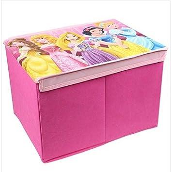 enfants filles disney princesse coffre jouet pliable jumbo bote de rangement livres chambre roseparure - Boite De Rangement Bebe Garcon