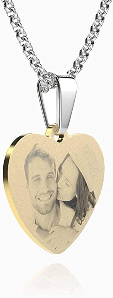 Personalized Pet//Cat//Dog Photo Necklace Lovely Memory Pendant Chain Custom Picture Necklaces Handmade Gift for Women//Girls//Wife//Mother