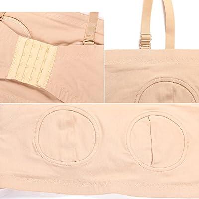 HOFISH Easy Hands-Free Breastpump Bra 2pcs/Pack with Free Bra Extenders