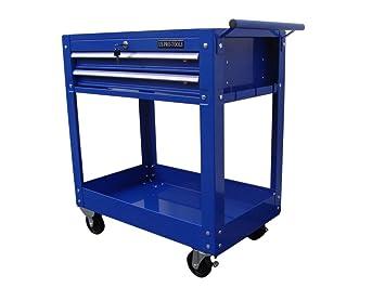 US PRO TOOLS carro de herramientas con ruedas estación de trabajo caja de herramientas apertura parte superior: Amazon.es: Bricolaje y herramientas