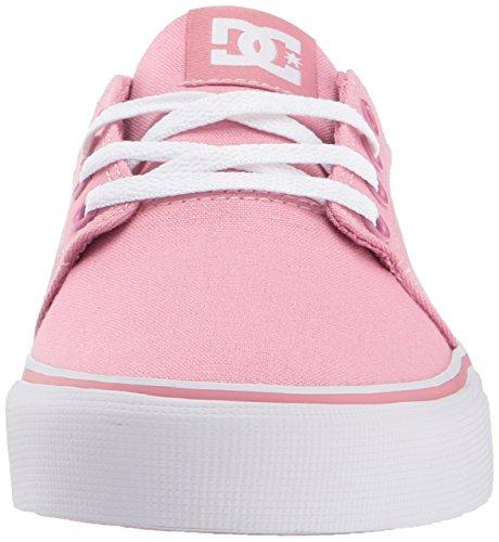 DC Junge Frauen Trase Tx Lowtop Schuhe, 42, Rose
