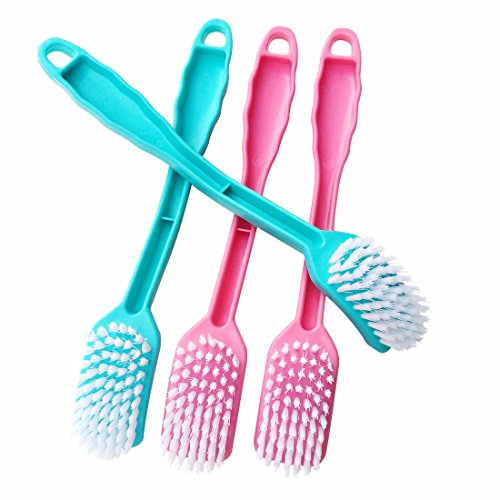 Versatile Cleaning Brush Home Kitchen Refrigerator Sink Bathroom Toilet Tile Can be used depending on the application - Set of 4