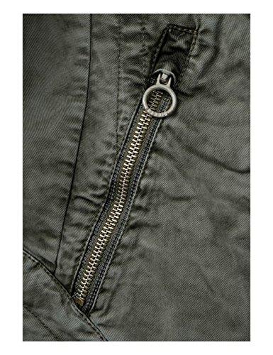 Khaki Cecil Femme smoky Blouson 11094 Vert nqqB6xc