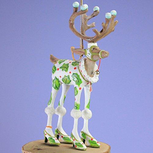 (Patience Brewster Mini Dashaway Vixen Reindeer Ornament Christmas Holiday Tree Ornament)
