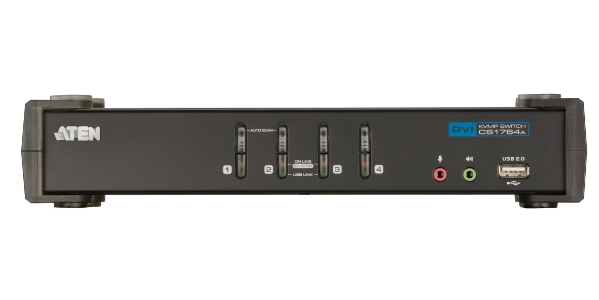 ATEN 4-Port USB 2.0 DVI KVMP Switch (CS1764A) by ATEN (Image #6)