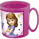 Joy Toy – Disney Sofia 749104 Tasse pour four micro-ondes, 350 ml, 10 x 9 x 9 cm