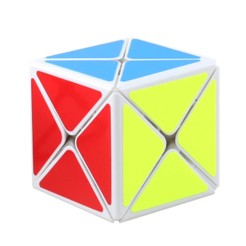 JIAAE 3X3 Puzzle Rubik's Cube Professional Competition Allotype Rubik Children Intelligence Toy,White