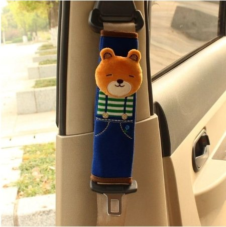 [Seat Belt Shoulder Bear A Must Have for All Car Owners for a More Comfortable Driving Size: 6 22] (Korean Culture Costume)