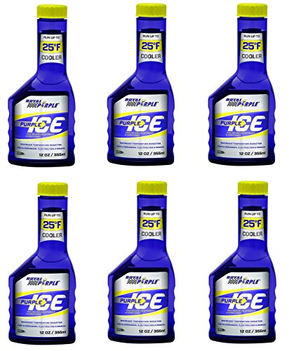 Royal Purple ROY01600 PURPLE ICE SUPER COOLANT, 12 oz, 6 Pack (12 Ounce (6 Pack))