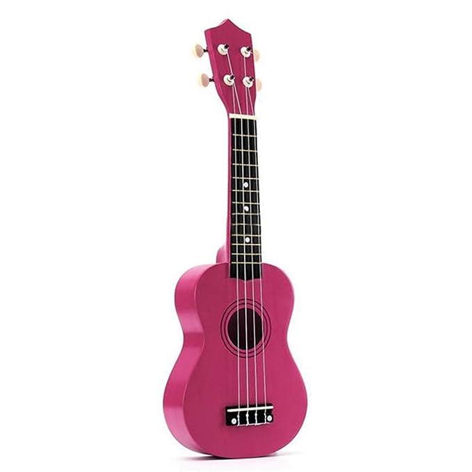 Guitarra Clásica Escuela Hawaii 21 Pulgadas Guitarra Acústica 4 ...